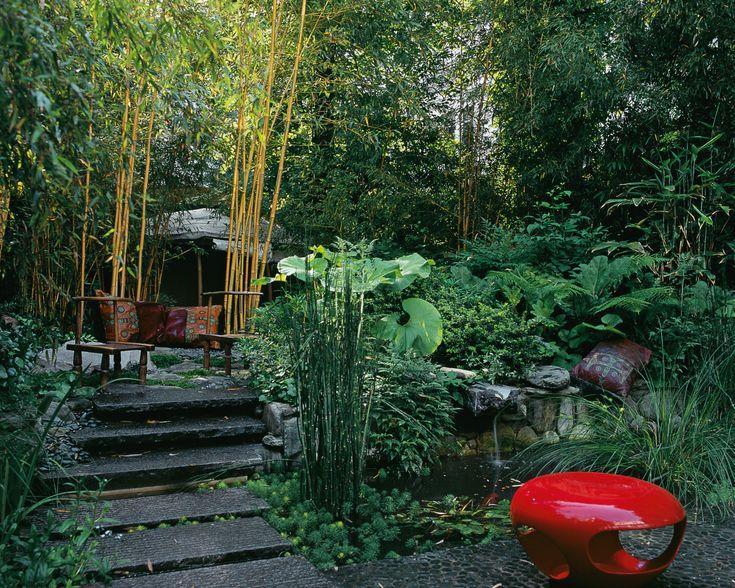 Esprit zen jardin camille muller paysagiste all es for Paysagiste jardin exotique