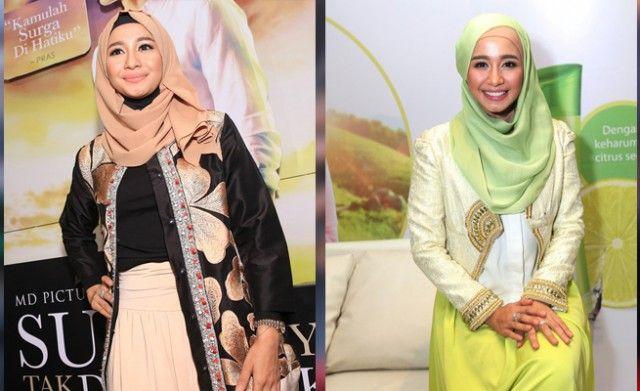 Yuk, Intip Laudya Chintya Bella Pilih Gaya Hijab www.heibogor.com