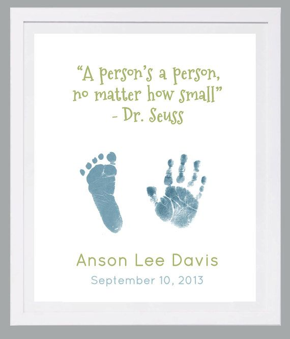 Hand and Footprint Art by Forever Prints. New Baby, Baby loss. Dr. Suess nursery. Choose colors. Baby footprint art, Baby footprints on Etsy, $25.00