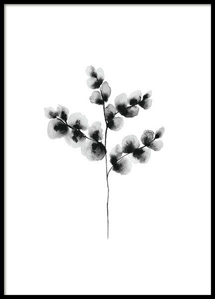 Een stijlvolle botanische poster met een aquarel van een katoen plant. Een eenvoudig en stijlvol motief zoals dit is perfect in een mooie lijst of in een klem. Erg mooi bij minimalistische Scandinavische stijl en past ook bij de meeste interieurstijlen. www.desenio.nl