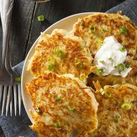 Appetizers | Fried Potato Cakes Recipe | Recipe4Living