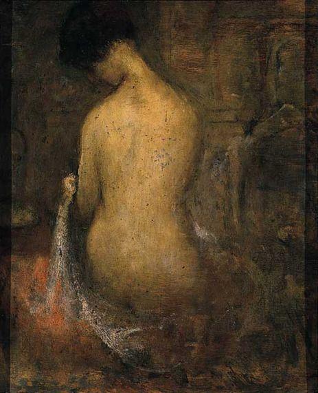 Τριανταφυλλίδης Θεόφραστος - Καθισμένο Γυμνό