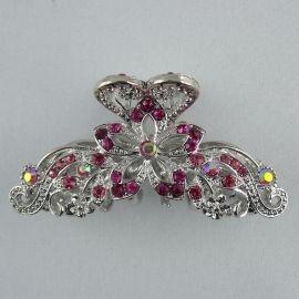 Pince crabe Kim - Grandes pinces crabe - Bijoux et accessoires cheveux - Eclats de Cristal