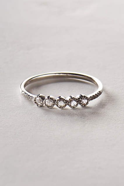 Rosecut Diamond Ring in 14k Gold - anthropologie.com #anthrofave