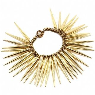 Christel's Long Gold Metal Spike Bracelet - Only $37.95 — Fantasy Jewelry Box