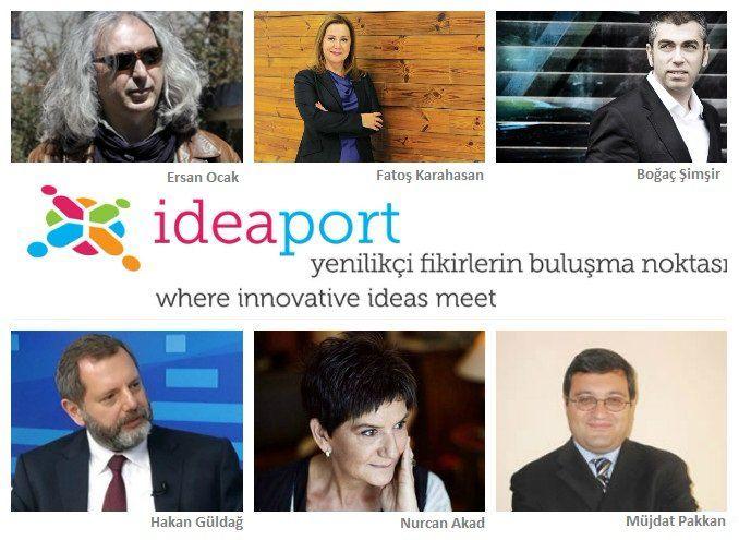 "Ideaport - ""İnovasyon Gazeteciliği Paneli"" #inovasyongazetecegi #innovationjournalism"