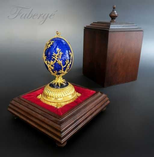 Lot: Faberge Imperial Jeweled Musical Egg, Sterling Silver, Lot Number: 0001, Starting Bid: $1,500, Auctioneer: Royal Antiques, Auction: Special New Year Sale, Date: January 1st, 2018 EST