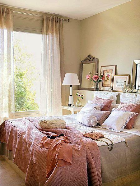 425 melhores imagens sobre Quartos Bedroom no Pinterest  ~ Quarto Romantico Casal