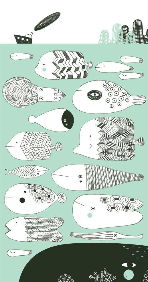 Baleines et poissons Philip Giordano - source: Naimoka