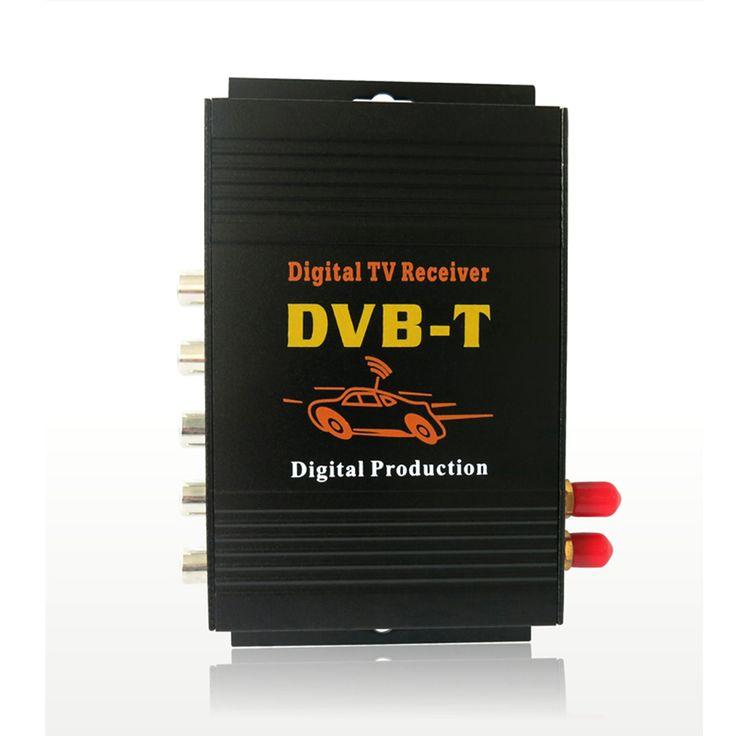 Dual Antenna Car HD Digital TV Turner Receiver Auto TV Box DVB-T DVB-T2 ATSC ISDB-T DVB-TMPEG-4 Two Chip Tuner High Speed . #Dual #Antenna #Digital #Turner #Receiver #Auto #ATSC