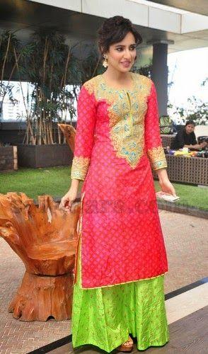 Neha Sharma Pink Salwar