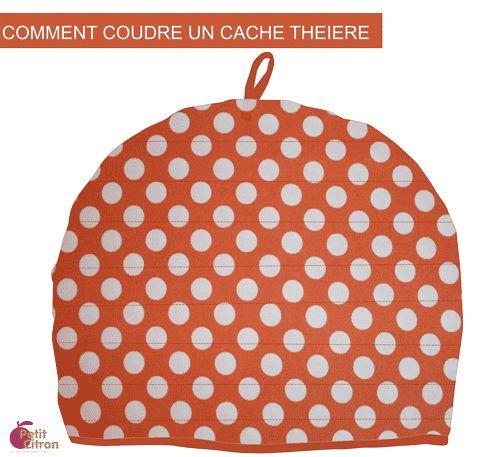 Cache théière - Petit Citron