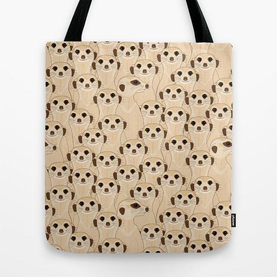 Meerkats - Suricata  Tote Bag