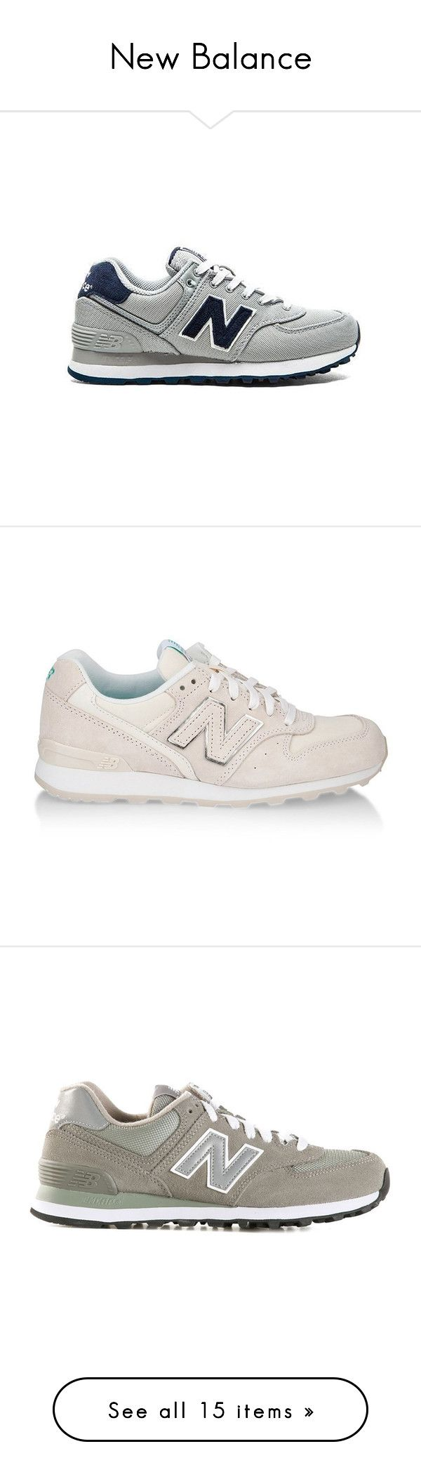 """""""New Balance"""" by baludna ❤ liked on Polyvore featuring shoes, sneakers, lace up shoes, new balance shoes, new balance trainers, new balance sneakers, laced shoes, new balance, nude and mesh shoes"""