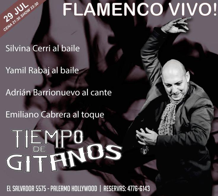 Sábado de Flamenco!! Reservas al 4776 6143