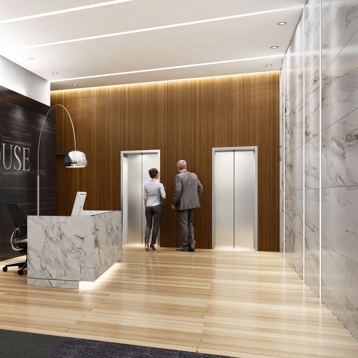 Landlord building reception refurb