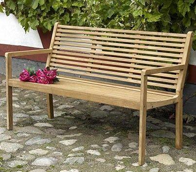 Скамейки садовые CANBERRA - Скамейки деревянные - Садовые скамейки