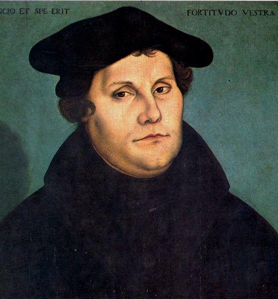 ルーカス・クラナッハ「マルティン・ルターの肖像」