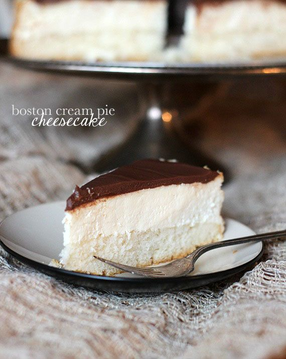 Cookies and Cups Boston Cream Pie Cheesecake - Cookies and Cups