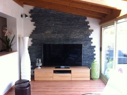 26 best CHEMINEE images on Pinterest Fireplace mantel, Corner - Revetement Exterieur Imitation Bois