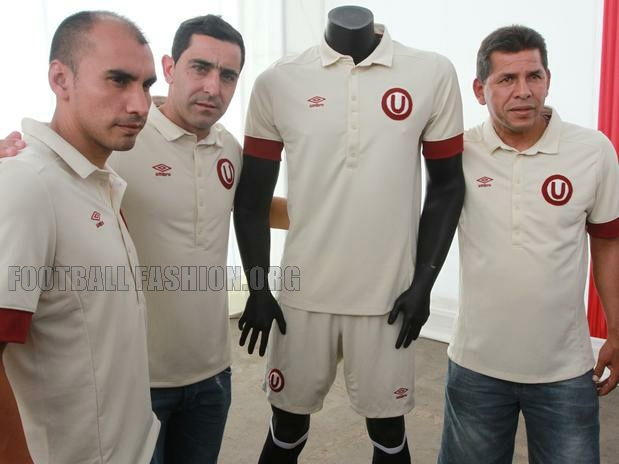 Club Universitario de Deportes 2013 Umbro Limited Edition Jersey