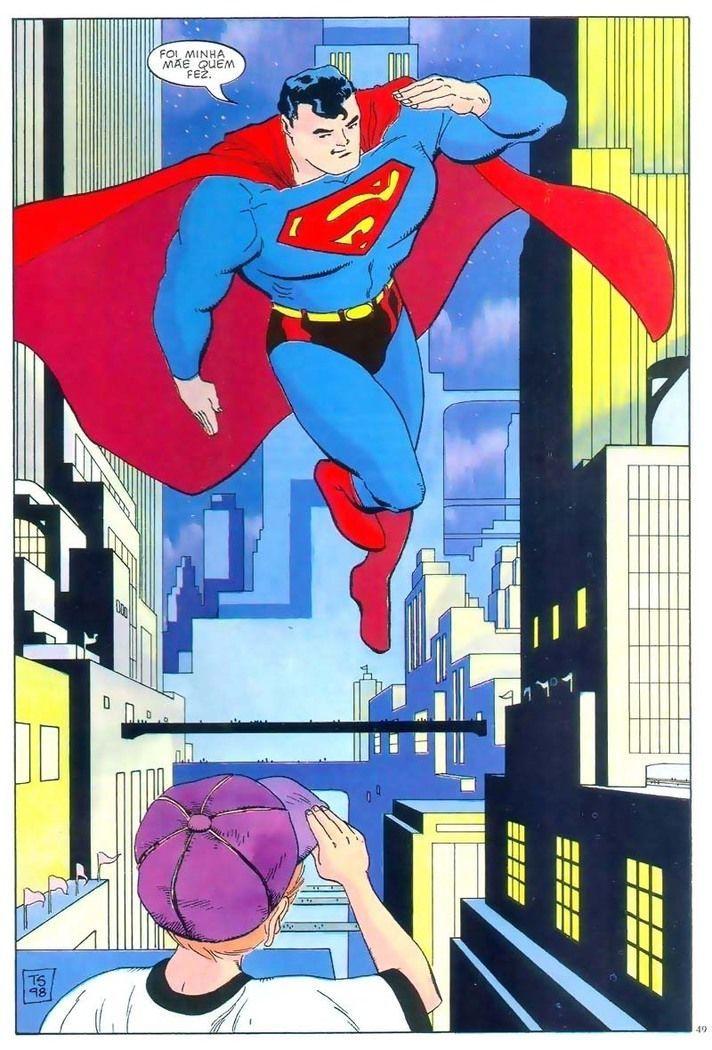 HQBR - Superman - Quatro Estações - Capitulo #1