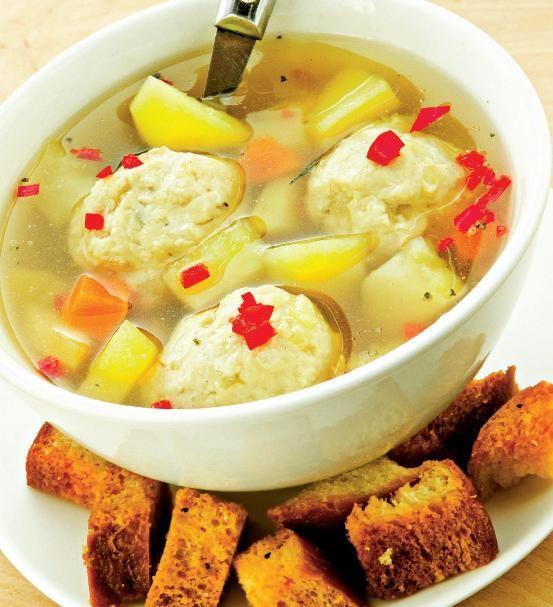 Supă de pui cu găluști | Retete culinare - Romanesti si din Bucataria…