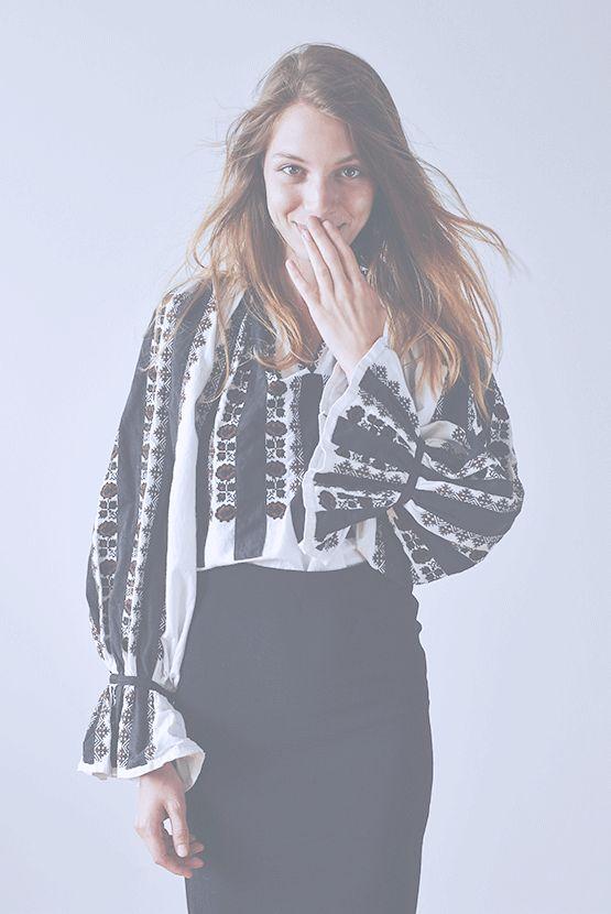 Photography: Copyright -Folkwear Society/ Model: Adela Niculae