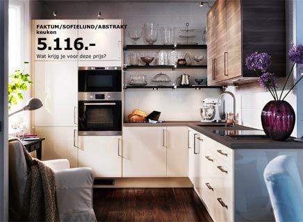 Kleine keuken inrichten tafel google zoeken huis pinterest ikea and search for Kleine keuken