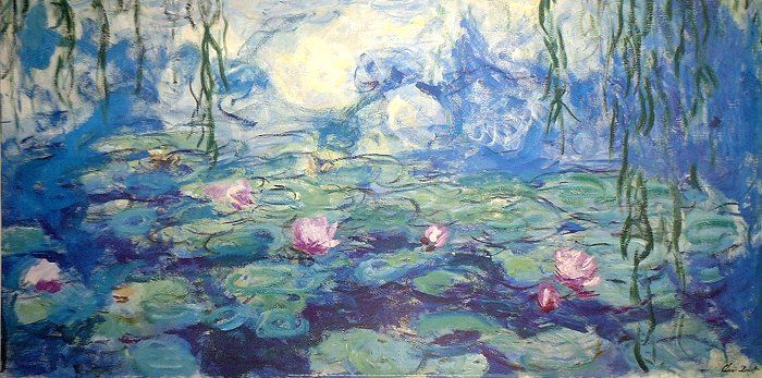 essay on monet s water lilies