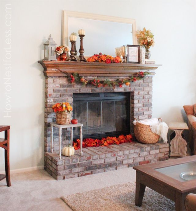 Oh, my favorite time of the year is finally upon us! Time to get the Fall decorations out of the basement and decorate my fireplace mantel. One of my favorite additions to this year's fireplace mantel was a new garland filled with pumpkins and berries that I purchased from Michael's for 50% off. And I'm …