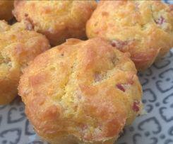 Bouchées crousti-fondantes au fromage et petits lardons