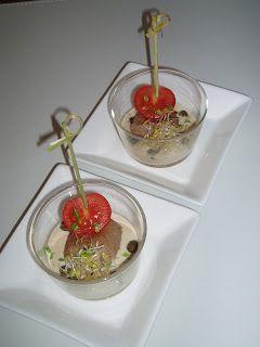 4-gangen diner: Vitello Tonato-spiesjes!