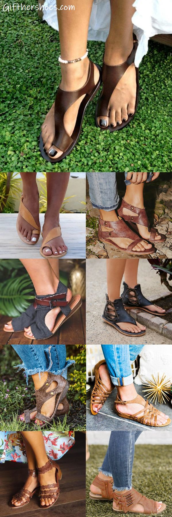 SHOP NOW>>30 Best Comfy Flats Sandals Shoes for Your Choice!Must Have It!