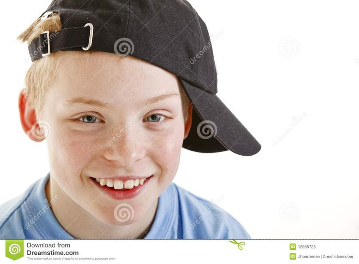 Portrait Of Smiling 12 Year Old Boy Stock Photos - Image: 10002653
