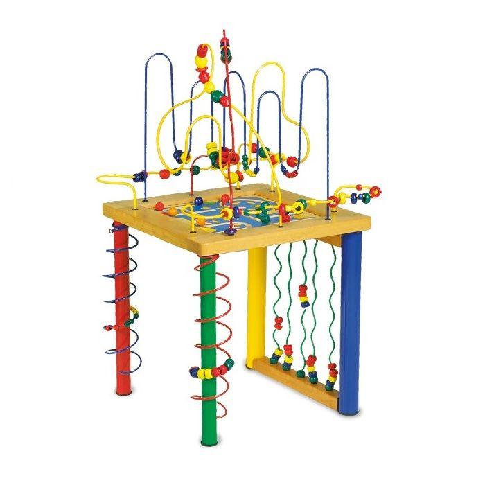 Mesa de juego de madera para ni os con circuito de for La resistencia juego de mesa