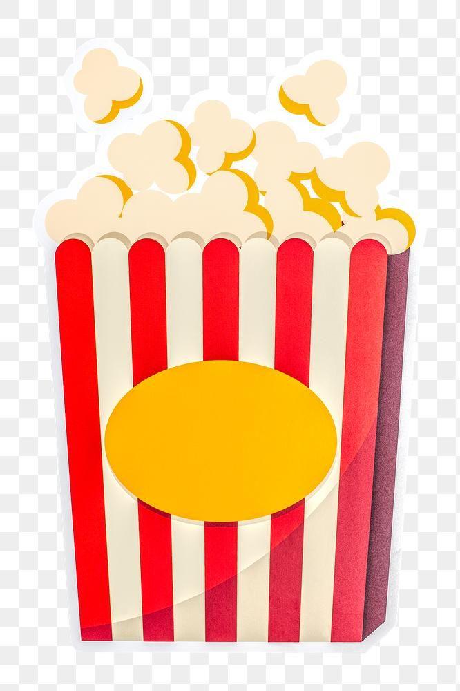 Movie Popcorn Icon Design Sticker Free Image By Rawpixel Com Karn Free Illustrations Icon Design Poster Design