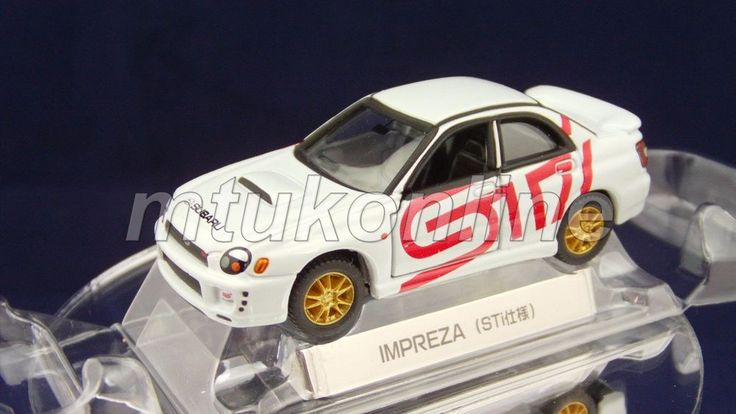 TOMICA LIMITED SUBARU IMPREZA WRX STI | GD2 | 1/59 | SET SPLIT | 2002 | NO BOX