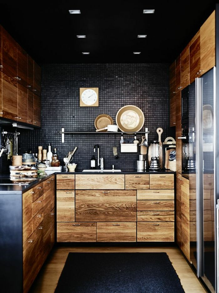 386 best Kleine Küchendesign images on Pinterest | Kitchens, Tiny ...