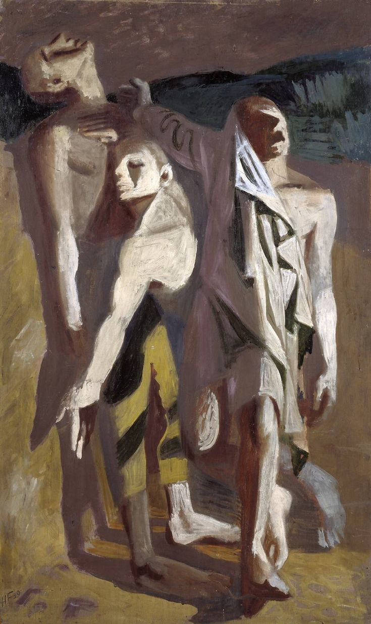 Hans Feibusch, 1939, Oil paint on plywood, Tate