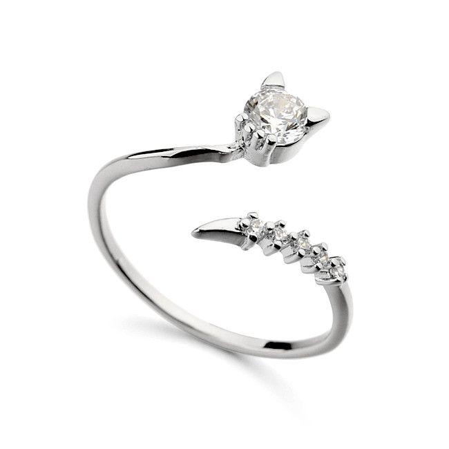 Симпатичные животные кольцо AAA циркон открытое кольцо позолоченные серебряные ювелирные изделия для инженерных обручальные кольца-Ювелирные изделия из цинкового сплава-ID товара::60388825646-russian.alibaba.com