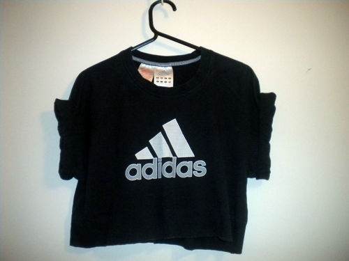 Vintage Adidas RENEWAL crop t shirt XS S 6 8 10 Urban Outfitters style    eBay