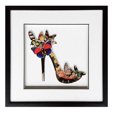 Obraz przestrzenny High Heel A Butterfly 104-9011