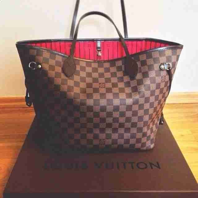 Brown/Beige Louis Vuitton Bag Speedy #Louis #Vuitton #Bag