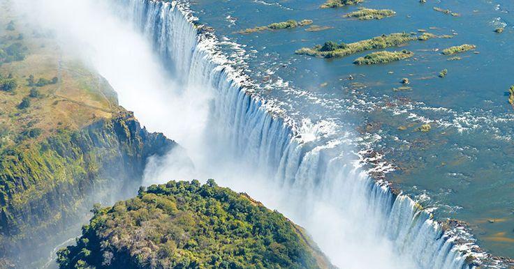Contemplez les chutes Victoria, ces cascades africaines qui font partie des sept merveilles naturelles du monde | SooCurious