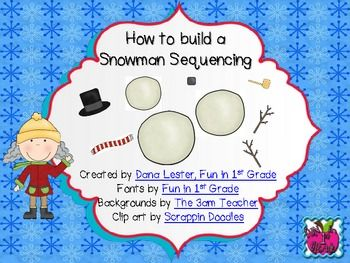 How to build a snowman essay