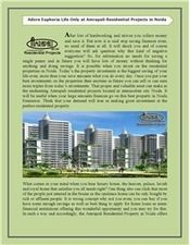 Amrapali Residential Projects | Residential Property in India