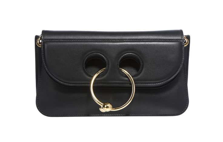 """Harvey Nichols: J.W. Anderson's Pierce bag """"The Harvey Nichols customer looks for standout styles that add a playful twist to her look. Loewe's animal cross-body handbags continue to be a sell-out, with customers looking to complete their collection with the new animals each season. This fall, shoppers are looking to buy into the punk trend, investing in J.W. Anderson's Pierce bag and Stella McCartney's mini Fabella star-studded bag, which is a great entry-level price point, too."""" — Tina…"""