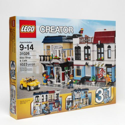 2016 Collection-LEGO Creator 31026 Building Set Bike Shop and Cafe Toy New Sealed MINT 3 in 1 * Continue to the product at the image link.
