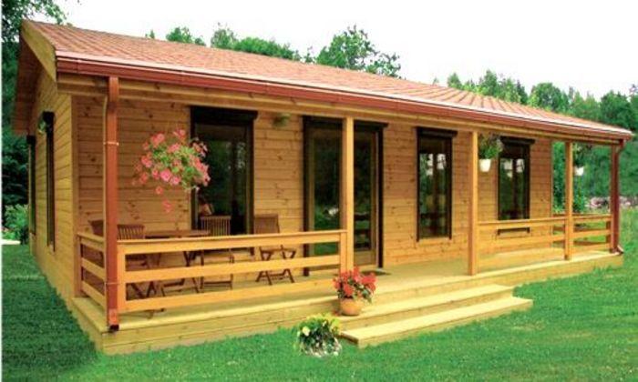 Fachadas De Casas Madera8 Jpg 700 420 Pixeles Casas Prefabricadas Modelos De Casas Prefabricadas Casas De Madera